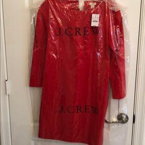 Red JCREW Dress size: XXS